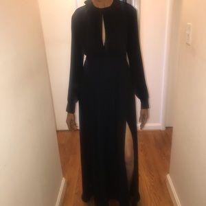 Express black maxi dress/gown